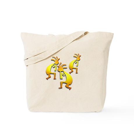 Three Kokopelli #112 Tote Bag