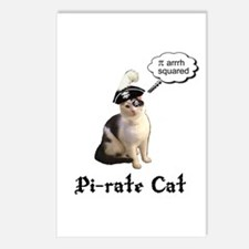 Pi-rate Cat Postcards (Package of 8)