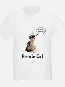 Pi-rate Cat T-Shirt
