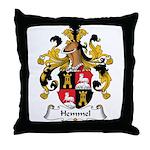 Hemmel Family Crest Throw Pillow