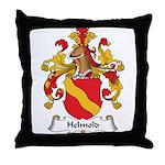 Helmold Family Crest Throw Pillow