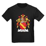 Helmold Family Crest Kids Dark T-Shirt