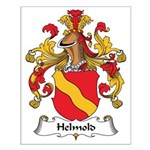 Helmold Family Crest Small Poster