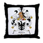 Hellen Family Crest Throw Pillow
