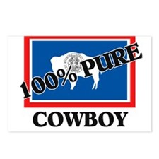 100 Percent Cowboy Postcards (Package of 8)