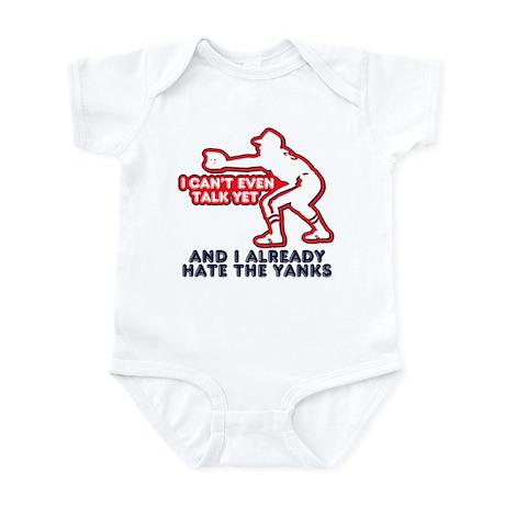 Hate the Yanks Infant Bodysuit