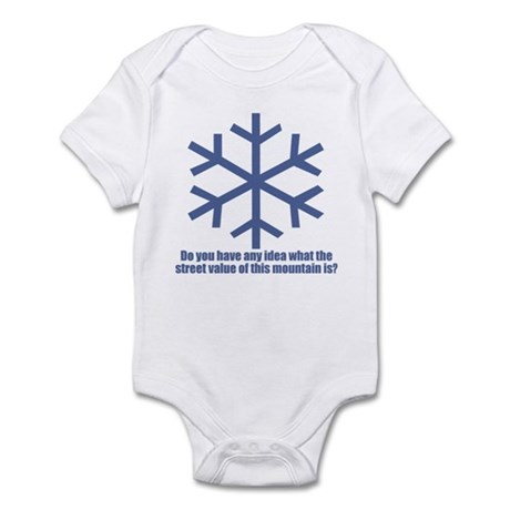 Better Off Dead Pure Snow Infant Bodysuit