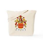 Heimburg Family Crest Tote Bag