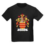 Heimburg Family Crest Kids Dark T-Shirt