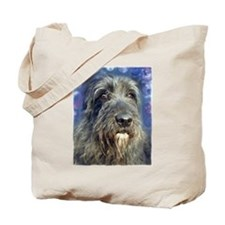 Unique Irish wolfhound art Tote Bag