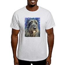 Cute Irish wolfhound art T-Shirt