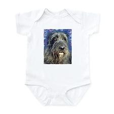 Unique Irish wolfhound Infant Bodysuit