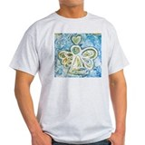 Easter angel Mens Light T-shirts