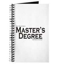 Master's Degree Journal