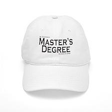 Master's Degree Baseball Cap
