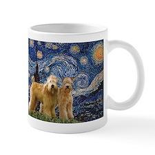 Starry Night & 2 Wheatens Mug