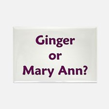 Ginger or Mary Ann? Rectangle Magnet