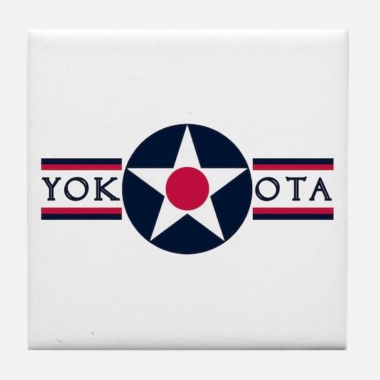 Yokota Air Base Tile Coaster