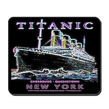 Titanic Neon (black) Mousepad