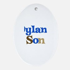 Dylan's Son Oval Ornament