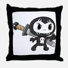 Lil' Ninja Throw Pillow