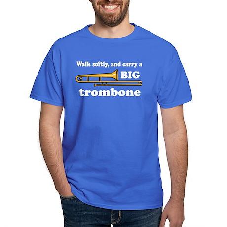 Funny Trombone Player Dark T-Shirt