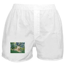 Lily Bridge & Wheaten Terrier Boxer Shorts