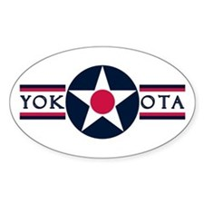 Yokota Air Base Oval Decal