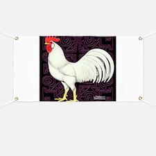 Leghorn Rooster Banner