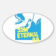 3am Eternal 80s Oval Decal