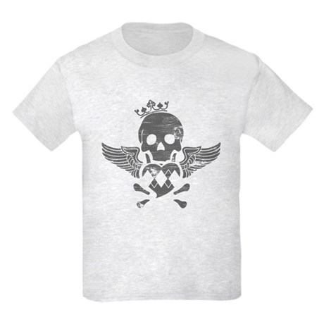 Winged Skull Kids Light T-Shirt