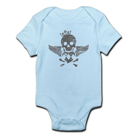 Winged Skull Infant Bodysuit