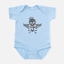 Winged Skull Infant Bodysuit