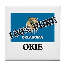 100 Percent Okie Tile Coaster