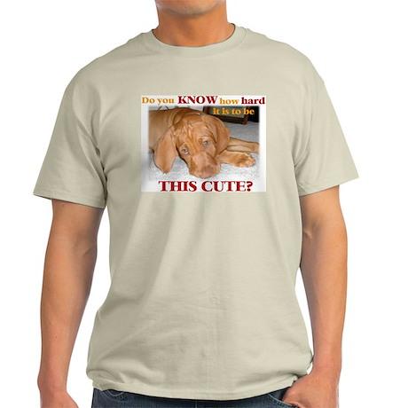 Cute vizsla puppy Ash Grey T-Shirt