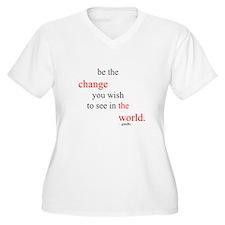 Unique Change the world T-Shirt
