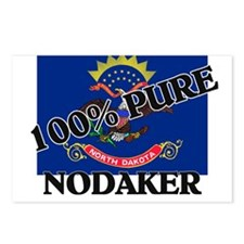 100 Percent Nodaker Postcards (Package of 8)
