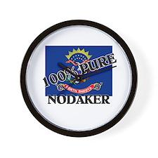 100 Percent Nodaker Wall Clock