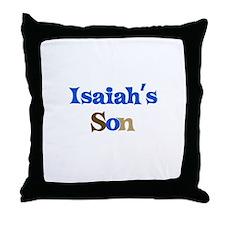 Isaiah's Son Throw Pillow
