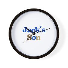 Jack's Son Wall Clock