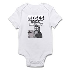 """""""Moses Is My Homeboy"""" Infant Bodysuit"""