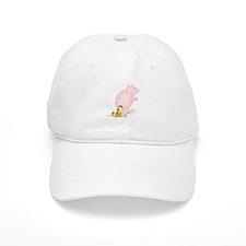 Incontinent Piggy Bank Baseball Cap