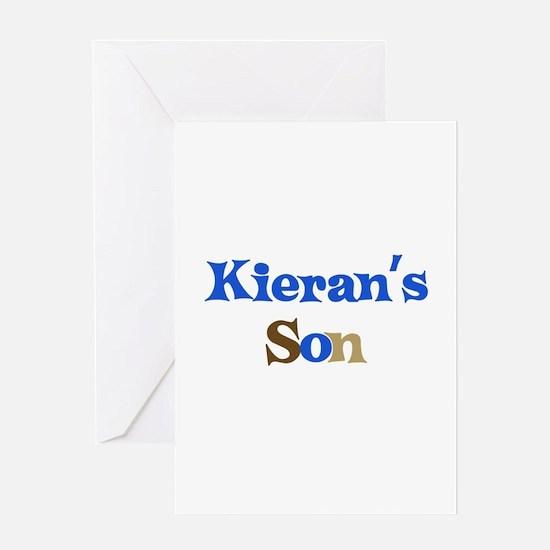 Kieran's Son Greeting Card