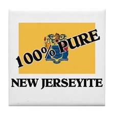 100 Percent New Jerseyite Tile Coaster