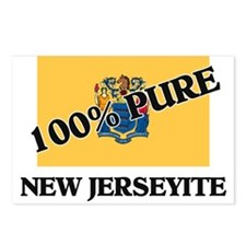 100 Percent New Jerseyite Postcards (Package of 8)