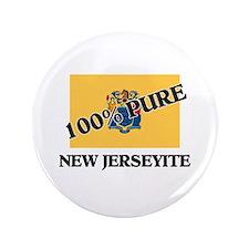 "100 Percent New Jerseyite 3.5"" Button"