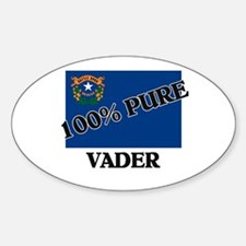 100 Percent Vader Oval Decal