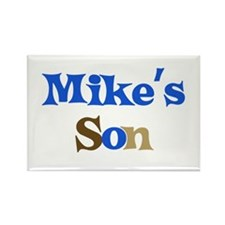 Mike's Son Rectangle Magnet