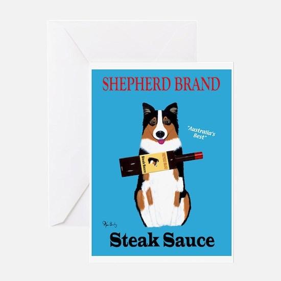 Shepherd Brand Steak Sauce Greeting Card