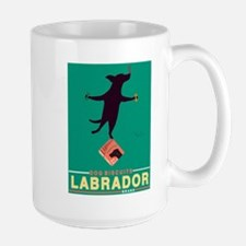 Labrador Brand - Black Lab Large Mug
